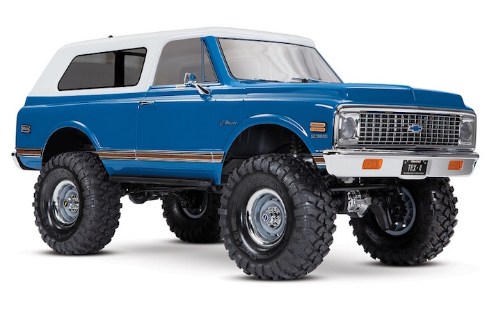 Traxxas: Chevrolet '69 & '72 Blazer Bodies for the TRX4