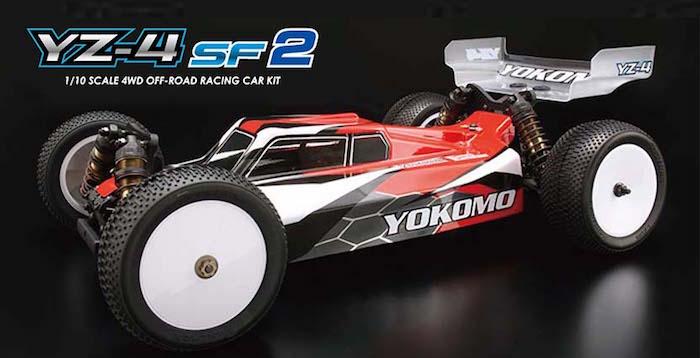 YOKOMO: YZ-4 SF2 4WD buggy