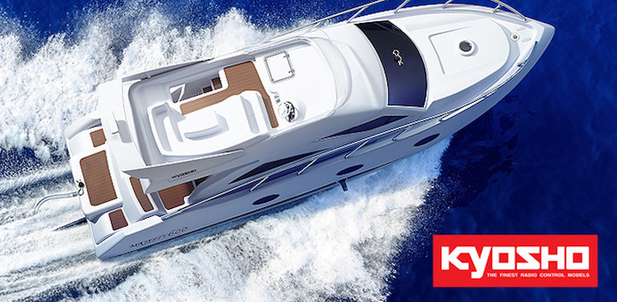 Kyosho: EP Majesty 600 R/S RC boat