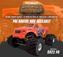 RC4WD: Carbon Assault 1/10 Monster Truck