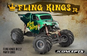 JConcepts: Fling Kings Jr 2.2″ Monster Truck Tires