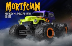 JConcepts: Mortician Monster truck body for Axial