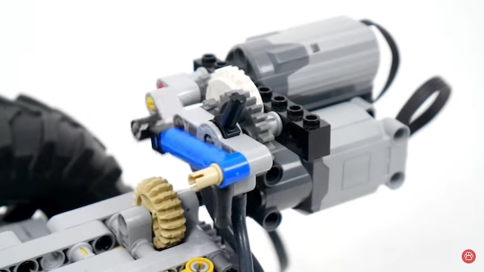 lego Narrow Independent Suspension with a Differential Lock 2