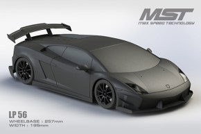 Max Speed Technology: LP56 Supercar body