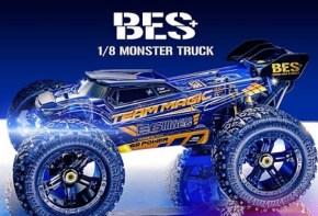Team Magic: E6III BES Plus - 1/8 brushless Monster Truck