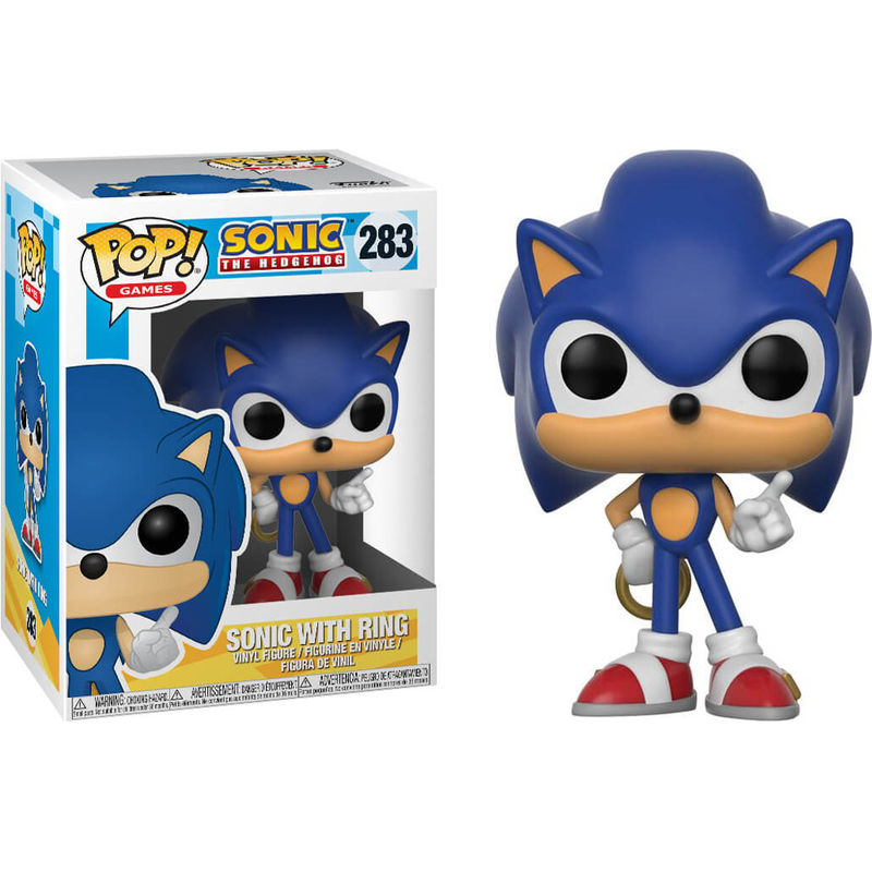 POP GAMES: SONIC THE HEDGEHOG – SONIC WITH RING