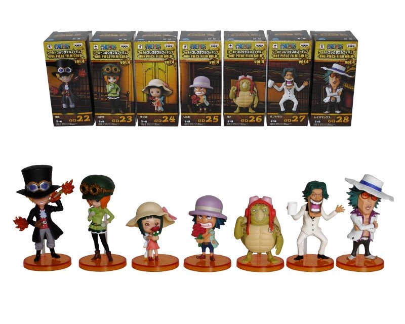 Figura 7 Cm. One Piece Film Gold Wcf Vol.4