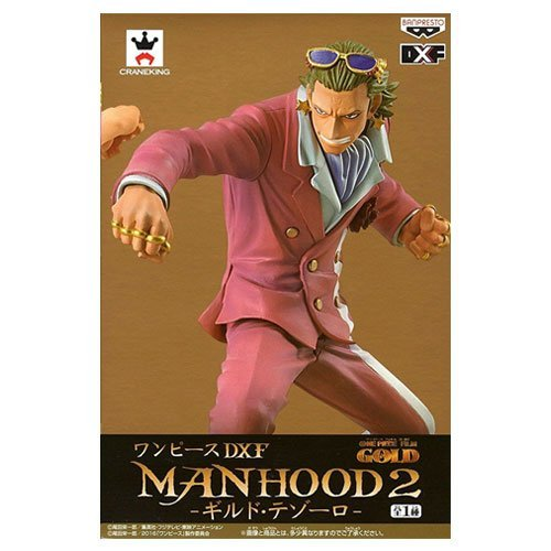 Figura 15 Cm. One Piece Dxf Manhood 2, Gild Tesoro