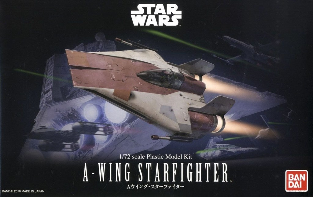 SW 1/72 A-wing Starfighter (Star Wars)