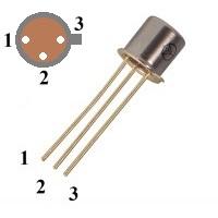 Capsulă de tranzistor TO-18