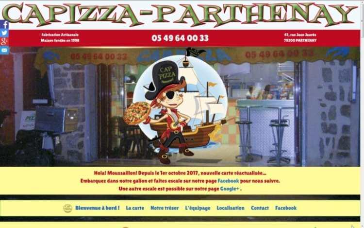 CapPizza Parthenay