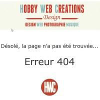 Gestion de l'erreur 404 - Page non trouvée