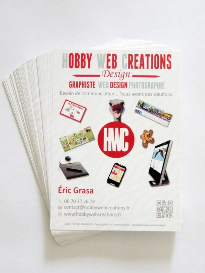 Flyer A6 HobbyWebCreations 2014