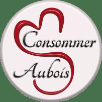 Pins Logo Consommer Aubois