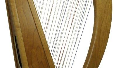 Cherry Wood Harp   Wooden Thing