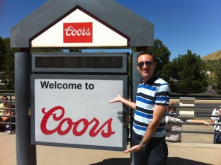 Larry welcomes you to .....Coors