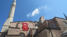 Outside the Hagia Sophia there are lots of places for an assassin to climb