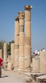 Different styles of columns