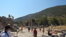 At one point in time, Ephesus was the second largest city in the Roman Empire, after Rome