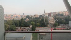 View of Istanbul from our stateroom