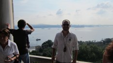 View of the Bosphorous from Topkapi with me