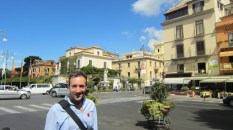 This is one of Sorrento's town square areas