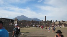 You can really see Vesuvius' scars there - it used to be twice as tall
