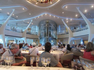 We signed up for a wine tasting - what else do you do on a day at sea?