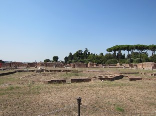 Where the once-lush gardens and piazzas were