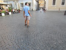 I liked the cobblestones