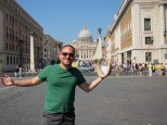 Me, my hat, and St Pietro