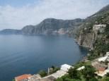 Lookng back towards Positano