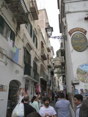 Beautiful Amalfi walking