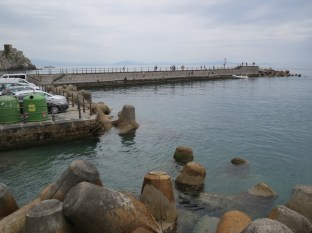 Amalfi's little pier