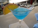 Oh blue wave martini, you never fail me