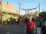 Radiator Springs Racers in the distance