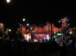 Radiator Springs at night is pretty neat