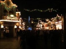 Departing Disneyland through Main Street