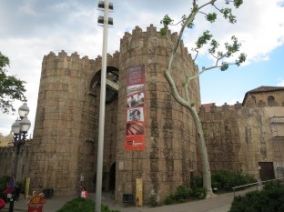 A medieval town recreation - Poble Espanyol