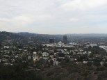 Universal City in the distance