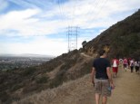 The trail over to the valley was fairly easy