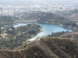 Hollywood Reservoir zoomed