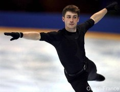 France's Brian Joubert is quite handsome
