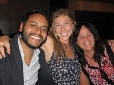 Paras, Carey, and Carey's mom