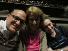 At the David Copperfield show