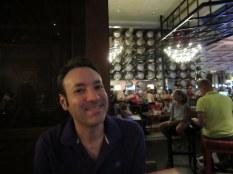 Haivng dinner at Gordon Ramsay's Bar & Grill at Caesar's