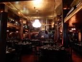 In the Cicada Restaurant below