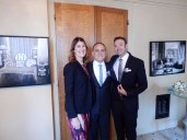 With Kerith, our amazing officiant and cantor