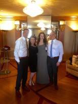 With Mila and Sveta, stunning as always