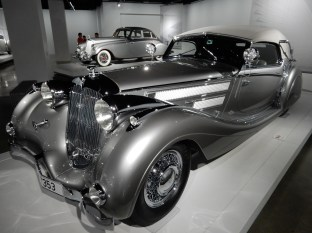 The sexy silver car exhibit - these cars are legit insane